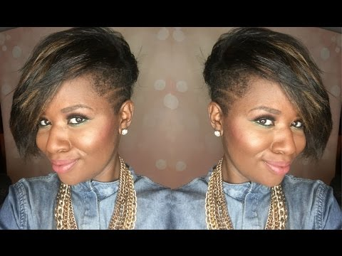 Natural Hair Tapered Haircut with Shaved Sides| Beautylynk.com Review