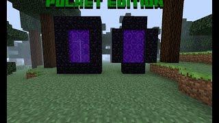 как строить портал в ад в майнкрафт0.12.1 #8