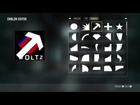 How to create a DaRk clan logo