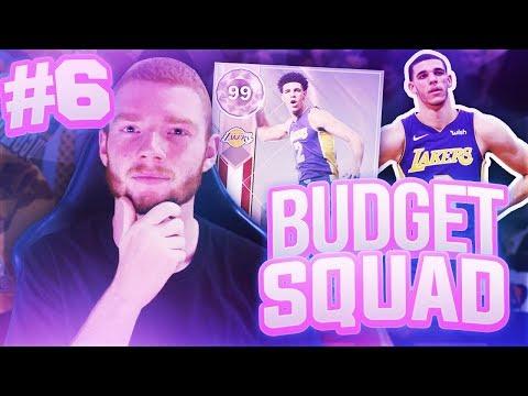 BUDGET SQUAD #6 - PINK DIAMOND ADDED!! NBA 2K18 MYTEAM!