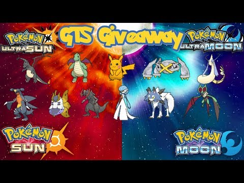 Pokémon SUN & MOON/ULTRA GTS GIVEAWAY |  | All Generations Champions Best Pokémon | Impressive!!