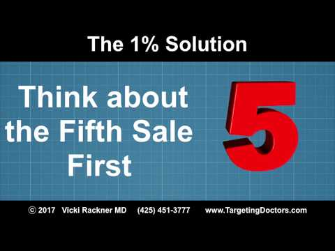 Think about the Fifth Sale First