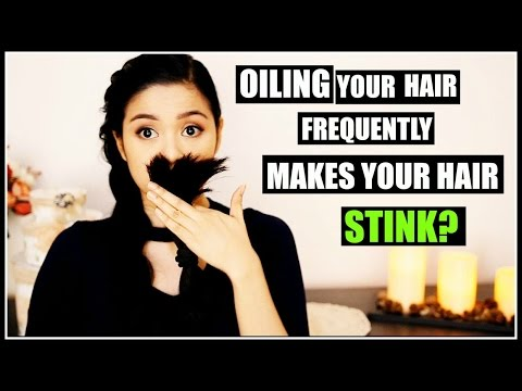 Can Oiling Your Hair Frequently Make Your Hair SMELLY? How To Get Rid of It-Beautyklove