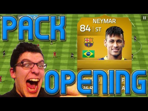 FIFA 14 - NEYMAR PACK OPENING REACTION