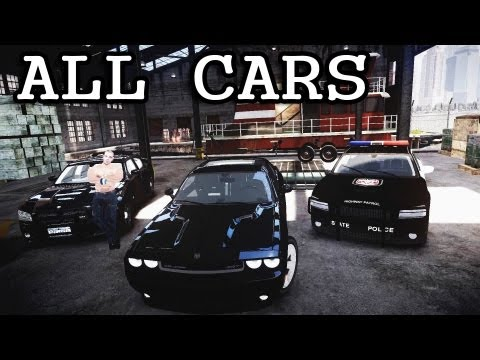 GTA IV - Fast Five all Cars