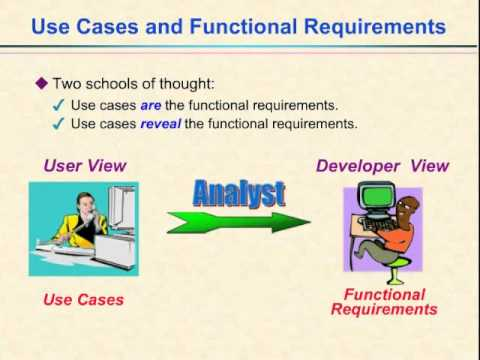 Video 13 - Use Cases and Functional Requirements
