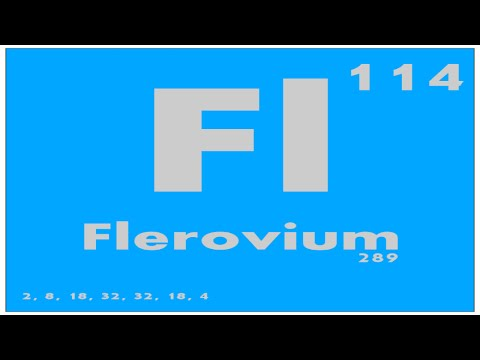STUDY GUIDE: 114 Flerovium | Periodic Table of Elements