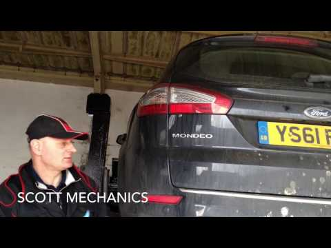 How to change a Diesel filter mondeo 2.0 tdi by Scott mechanics