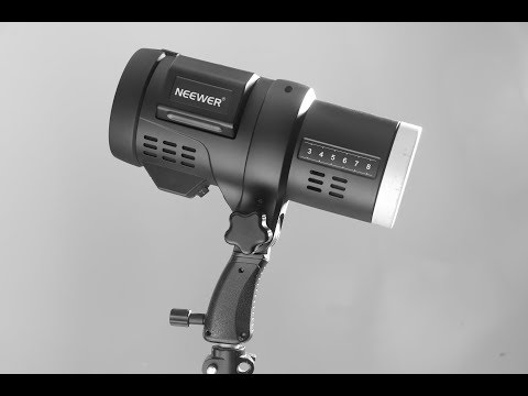 Neewer Portable Strobe F1-400 unboxing and demo - Is this