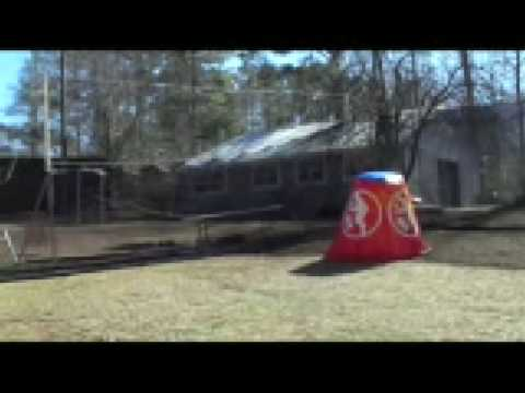 RPG Paintball Pole System - Raise and lower net in Minutes