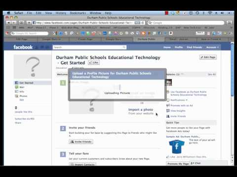Creating a School Facebook Page