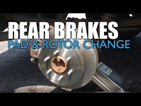 Ford F-150 Rear Brake Pads & Rotor Replacement