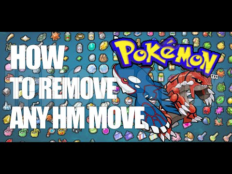 How to Overwrite Forget HM Moves Pokemon Sapphire & Ruby GBA4IOS iOS 11 10 9  iPhone