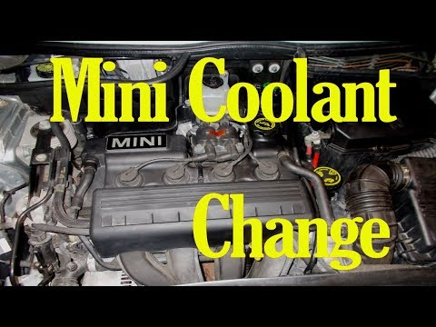 How to change the coolant on a Mini