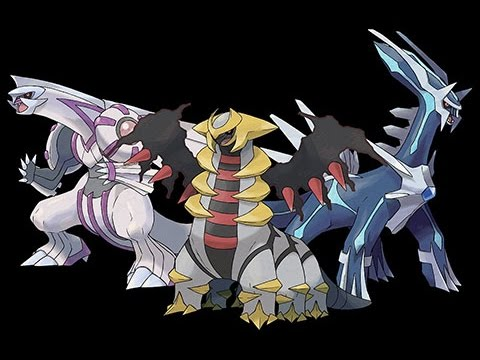 Capture De Dialga,Palkia et Giratina Pokemon : Blaze Black 2/Volt White 2