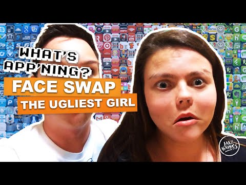 FACE SWAP LIVE: THE UGLIEST GIRL (What's App'ning)