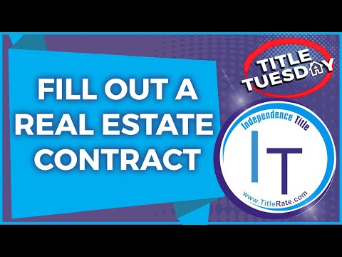 Episode 84 How to Fill Out the Florida Real Estate Contract For Sale and Purchase