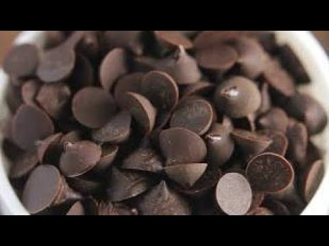 How to make chocolate chips from scratch