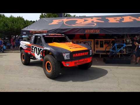 Justin Lofton's FOX 2017 Trophy Truck - Exhaust + Engine Noise
