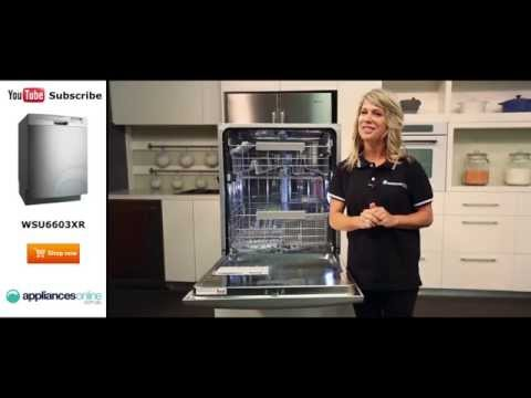 Westinghouse Dishwasher WSU6603XR Reviewed by product expert - Appliances Online