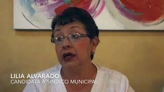 Lilia Alvarado   Candidata a Sindico