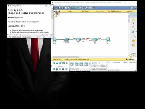 Subnet and Router Configuration