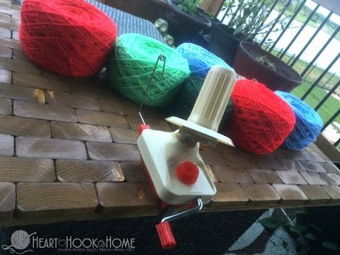 How to Use an Economical Yarn Winder