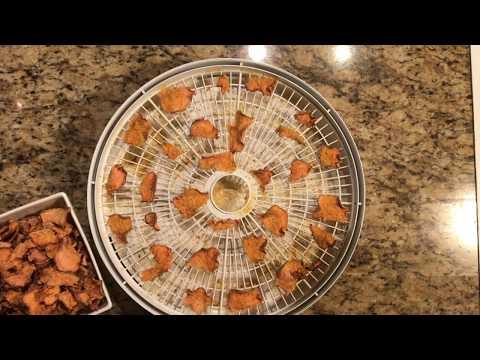 Dehydrated Sweet Potato Chips