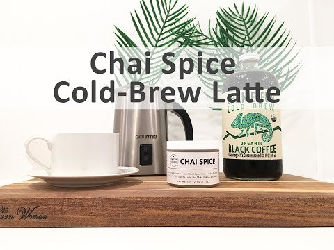 How To Make a Cold Brew Latte (Made with Chai Spice)