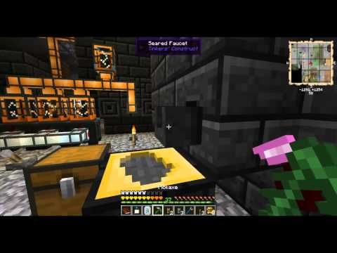 Automating Smeltery to make Ingots - AgSkies 20 - Minecraft Minute