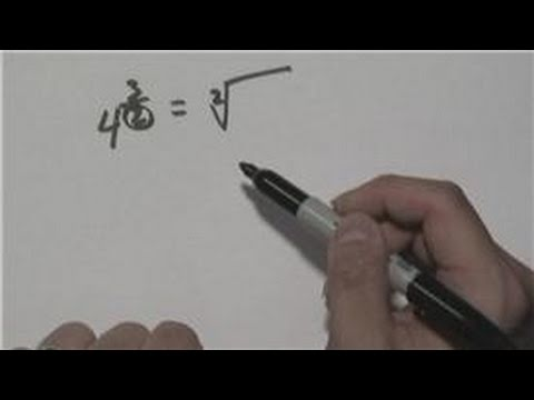 Mathematics: Exponents : How to Solve Fractional Exponents