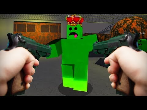 Realistic Roblox - ZOMBIE ATTACK KING SLIME