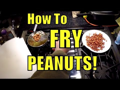 How to Fry Peanuts