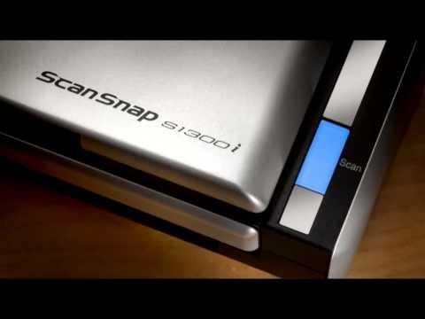 Fujitsu ScanSnap S1300i Product Tour Video