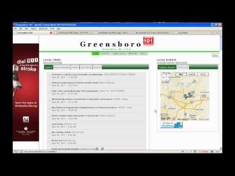 Greensboro 101 Events Calendar