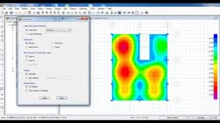 CSI SAFE - 18 Combined Footing Design (Analysis, Design and