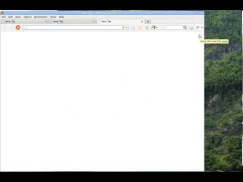 Tutorial Firefox - Turn The New Tab Page Off