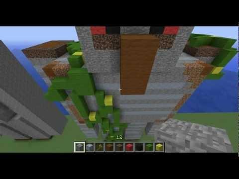 Minecraft Statue Tutorials: Iron Golem 1/3 The Shell