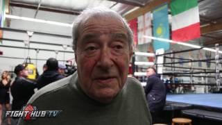 "Bob Arum ""I still think Golovkin won the fight. I had it 7-5 plus the knockdown"""