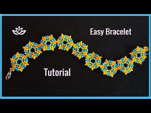 Fine Seed Beads Bracelet - Beginner's Tutorial