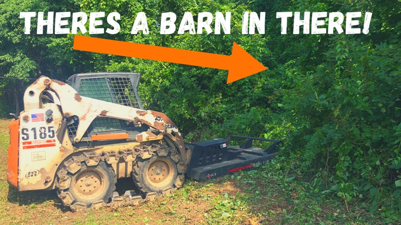 Using a Generic Brush Cutter to uncover an Abandoned Farm! (Will it Hold Up?)