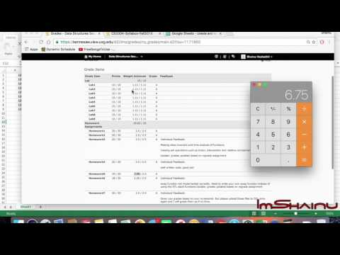 How To Calculate Your Grade / Class Average Using Excel ? [Basic Tutorial]