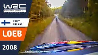 WRC Finland 2008: Loeb SS12