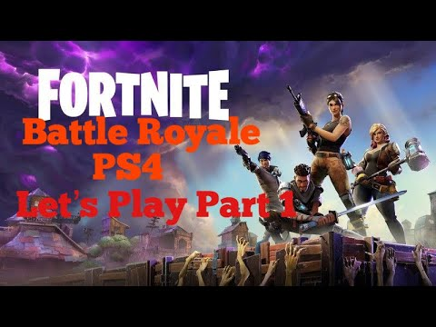 Fortnite Lets Play Part 1 with Facecam