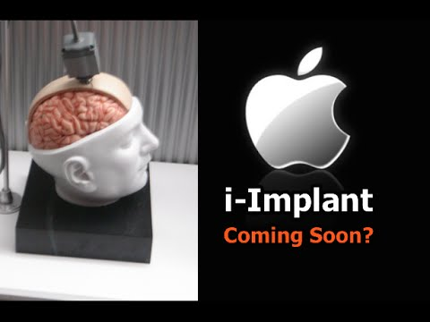 iPhone BRAIN IMPLANT Coming Soon From Apple?