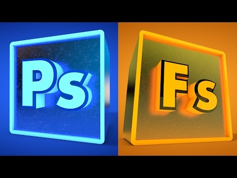 Intro to 3D in Photoshop / Adobe Fuse for 3D Characters in Photoshop CC -  Sean Frangella