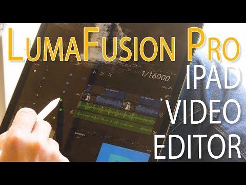 iPad Pro Video Editing - LumaFusion Review