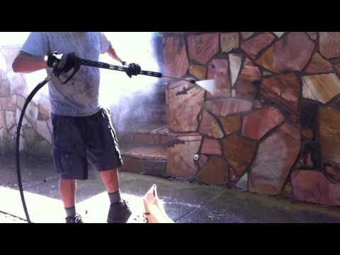 Natural Stone Cleaning Chicago | Retaining Wall Cleaning Chicago