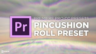 Smooth Pincushion Roll Transition Premier Pro Preset