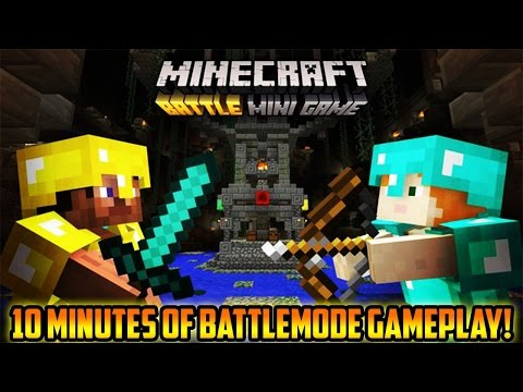 Minecraft Battle Mode Game-play! - (PS3/PS4/Xbox/WiiU)